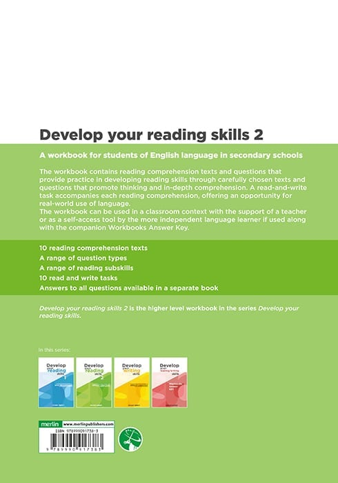 Develop your reading skills 2 - Merlin Publishers